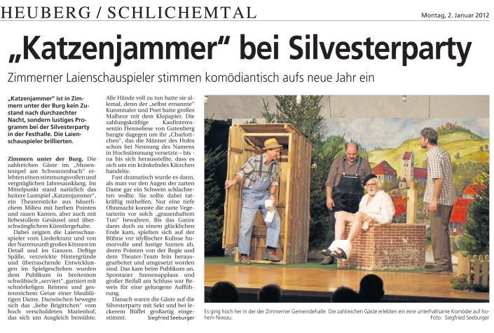ZAK 02.01.2012 - Katzenjammer