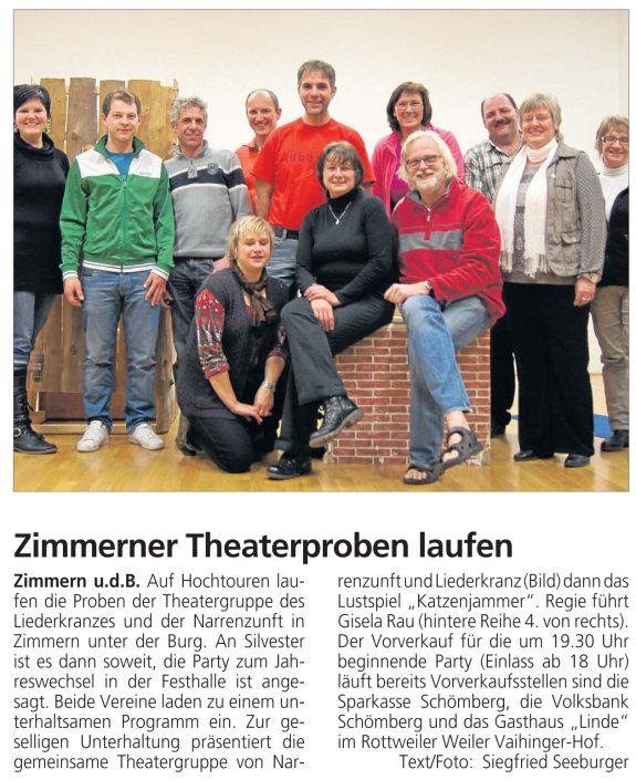ZAK 12.12.2011 - Katzenjammer
