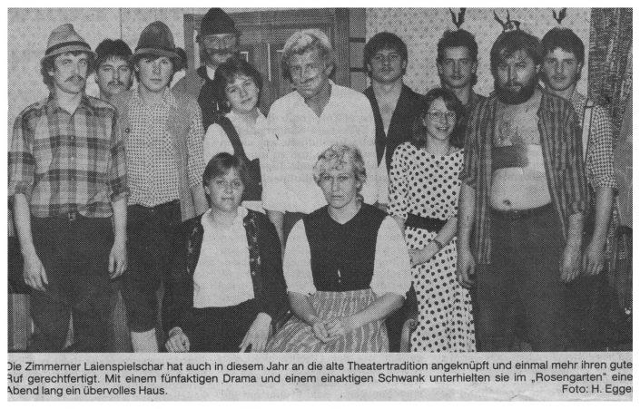 Pressebericht Weihnachten 1982