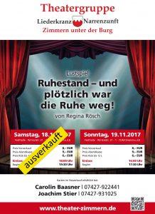Plakat Theatergruppe