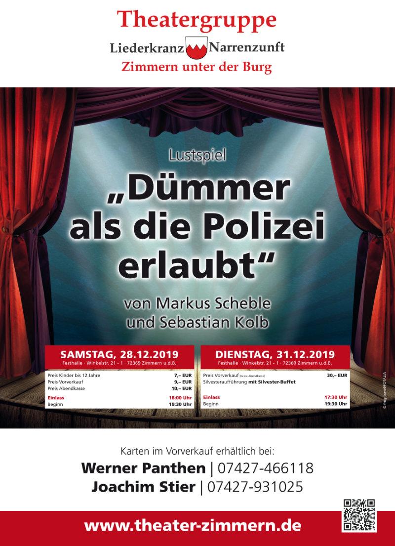 Plakat Zimmern Theatergruppe-Zimmern 2019
