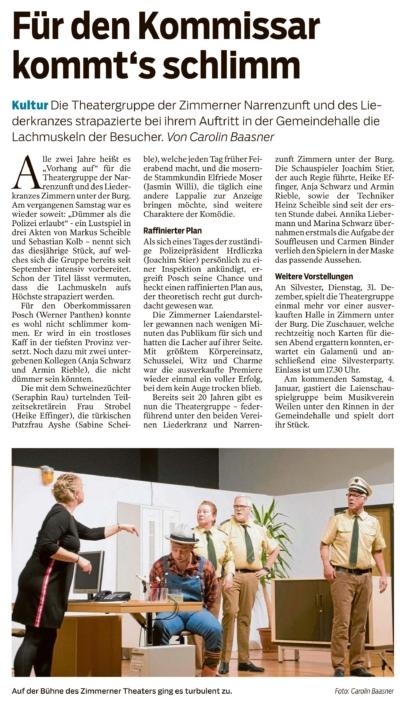 """ZAK 31.12.2019 - """"Dümmer als die Polizei erlaubt"""""""