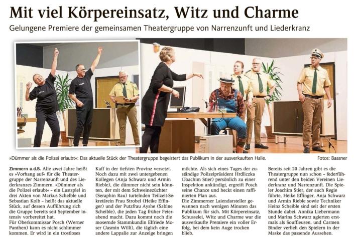 """Schlichem-Heuberg-Blick 22.01.2020 - """"Dümmer als die Polizei erlaubt"""""""